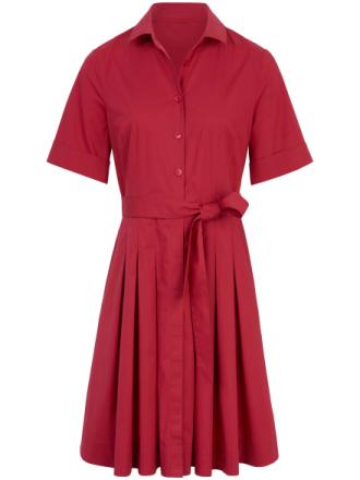 Klänning kort ärm från Peter Hahn röd