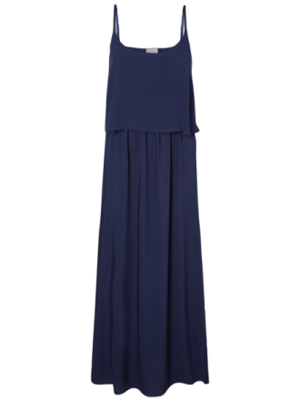 VERO MODA Summer Maxi Dress Women Blue