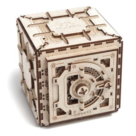 3D Pussel Kassaskåp