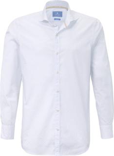 Skjorta hajfenskrage från Pierre Cardin vit