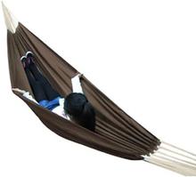 vidaXL Hängmatta XL Cariben brun