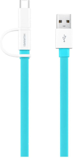 Huawei 2 i 1 Laddare USB-C / Micro-USB 1,5m