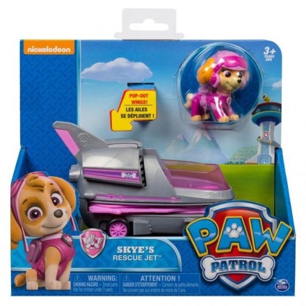 Paw Patrol basic vehicle - Skye's rescue jet