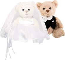 Nallar bröllop, Kiara & Hugo 18 cm, Bukowski