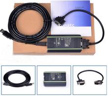 High Quality New PLC Cable for Siemens S7 200/300/400 6ES7 972-0CB20-0XA0 USB-MPI+ PC USB-PPI