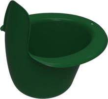 Easypisi - Windelfrei Töpfchen mit Spritzschutz - 100% Recycling-Material - Waldgrün