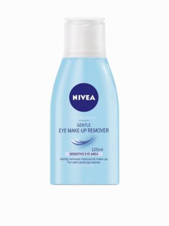 Nivea Gentle Eye Make Up Remover 125 ml Transparent