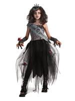 Goth Prom Queen Maskeraddräkt Barn Medium