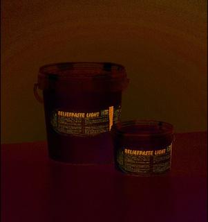 Reliefpasta light - skall färgas