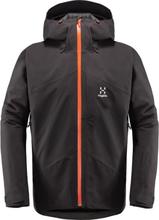 Haglöfs Niva Insulated Jacket Men Herre skijakker fôrede Grå M