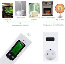 Prylxperten Trådlös termostat RF 433MHz frost- och temperaturkontroll 3KW