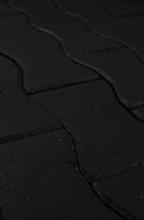 Verbundpflaster Schwalbenschwans, schwarz