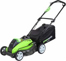 Greenworks Gressklipper uten 40 V batteri G40LM45 45 cm 2500107