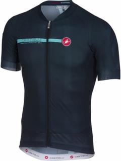 Castelli - Aero Race 5.1 men's Bike jersey (dark blue) - L