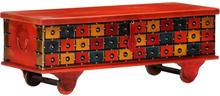 vidaXL Förvaringslåda 110x40x40 cm massivt akaciaträ
