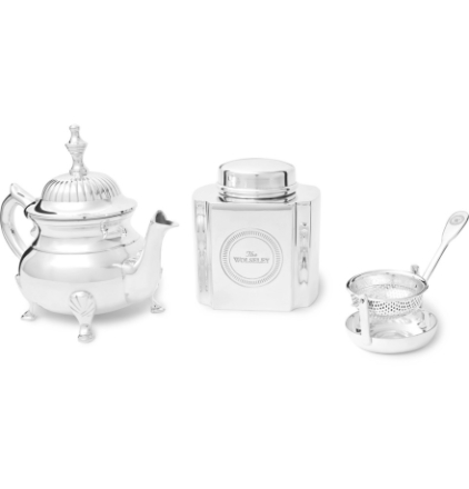 Silver-plated Tea Set - Silver