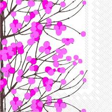 Servett Lumimarja Rosa 33x33 cm