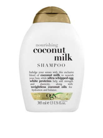 OGX Coconut Milk Shampoo 385 ml Transparent
