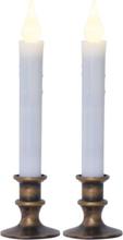 LED Antikljus 2-pack Mette