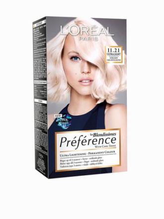 L'Oréal Paris Blondissimes Préférence with Cool Tones Crystal Blond