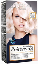L'Oréal Paris Blondissimes Préférence with Cool Tones Hårfärg Crystal Blond