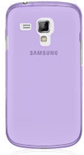 Soft Shell Transparent (Lilla) Samsung Galaxy Trend Deksel