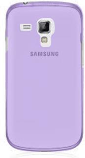 Soft Shell Transparent (Lilla) Samsung Galaxy Trend Deksel
