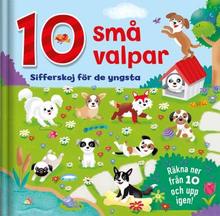 10 Små Valpar- Sifferskoj För De Yngsta