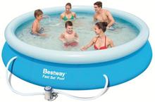 Bestway - Fast set Pool 366x76cm with pump (57274)