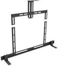 Multibrackets M Universal Soundbar Mount Small - Monteringssats (väggfäste) för soundbar - metall - svart - skärmstorlek: 32-40 - monteringsgränssnitt