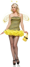 Leg Avenue - Ruffled Bumble Bee - X-Small (841225041)