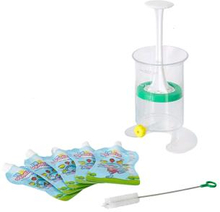 Fill n Squeeze - Starter Kit with 5 pouches and brush