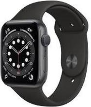 Apple Watch Series 6 (6. Gen 2020) GPS 40mm Space Grey Sportsrem Sort