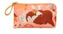 Oilily Geldbeutel Flat Micro Pouch (Tiermuster) Pink Flamingo (rosa)