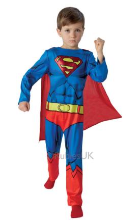 Rubies - Classic Comic Book Superman - Large - 7-8 years (610780)