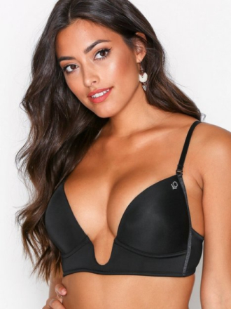 Abecita Amelia New Super Push Up Bra Svart