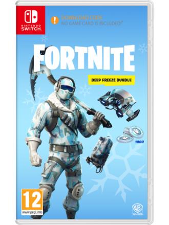 Fortnite: Deep Freeze Bundle - Nintendo Switch - Toiminta