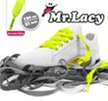Mr. Lacy - Flatties Schnürsenkel - Neon Lime Yellow