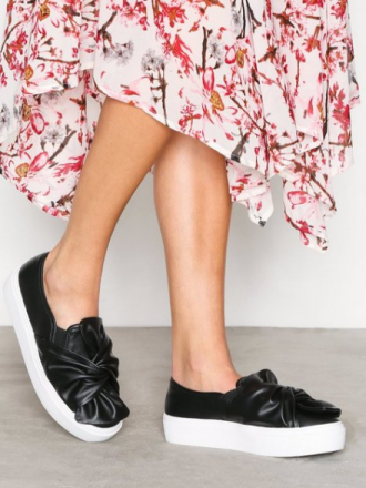 NLY Shoes Twist Platform Sneaker Svart