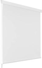 vidaXL Rullgardin för dusch 140x240 cm vit