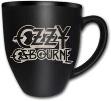 Ozzy Osbourne: Boxed Matt Mug/Logo (Laser Etched)
