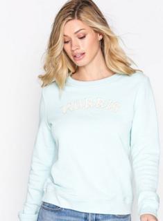 Morris Lady Logo Sweatshirt Sweatshirts Turqoise