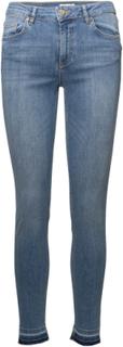 Oslo Raw Skinny Jeans Blå Line Of Oslo