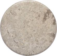 vidaXL bordplade Ø50x2,5 cm marmor grå