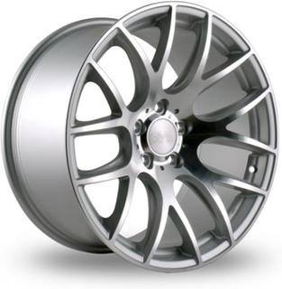3SDM 001 Silver Fälgpaket