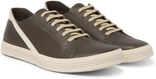 Geothrasher Leather Sneakers - Gray