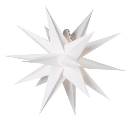 Sputnik Hvid 60cm Julestjerne - Lampan
