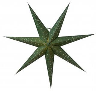 Isadora Grön 80cm Julstjärna