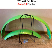 """26""""4.0 Fat Bike Colorful Mudguard Fender Guard for Electric Bicycle Kit MTB Moutain Bike Accessories Fender Bracket Wing Parts"""