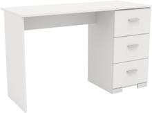 Galaxy Hvit – Skrivebord med 3 skuffer